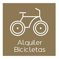 Alquiler bicicletas complejo rural