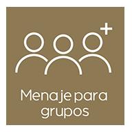 Menaje grupos complejo rural