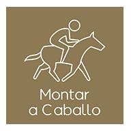Montar caballo alojamiento rural