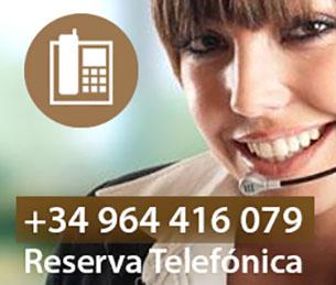 Reserva telefónica casa rural